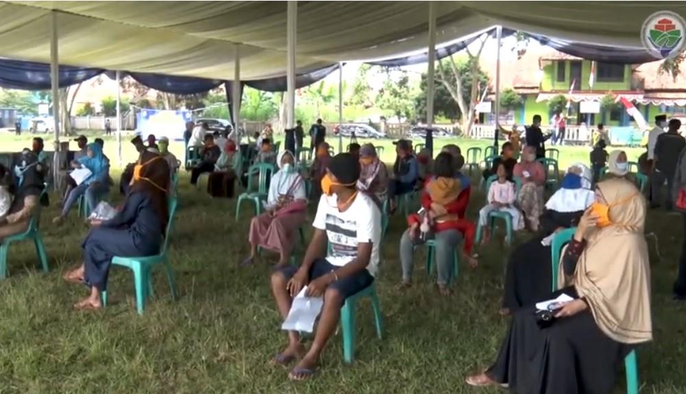 Penyaluran BLT Dana Desa di Desa Margalaksana